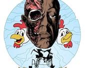Breaking Bad Gustavo Fring Print.