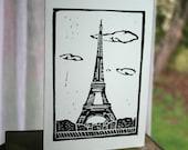 Eiffel Tower 4 card set