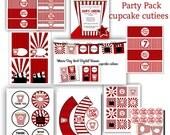Movie Time Star   Digital Party Pack set  PRINTABLE U pRiNt