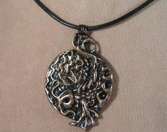 Bronze Koi Pendant