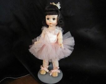 Vintage Madame Alexander Ballerina