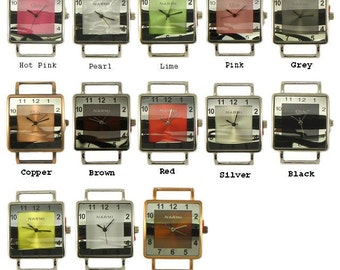 SQUARE - Interchangeable watch face (ribbon bar)