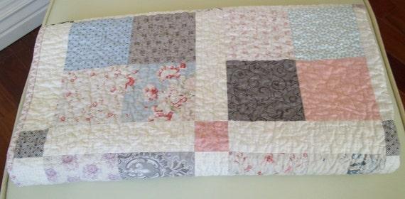 Lap Quilt - Patchwork Quilt - Blanket