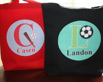 Sports Personalized Tote Bag