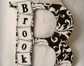 Custom Wood Letter for Sarah Alicia