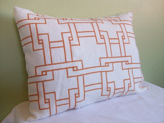 "Thom Filicia ""Citysquare-Terratone"" Lumbar Pillow Cover"