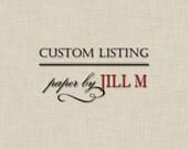 Custom Listing for Phil and Lindsay -- Coordinating Direction Cards -- diy printable digital file
