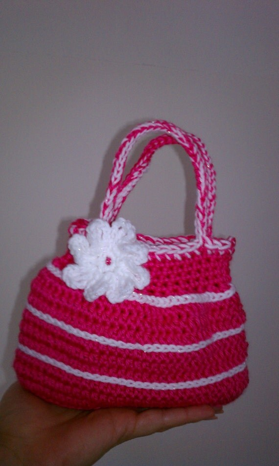 Toddler Crochet Purse Pattern : Items similar to Crochet GIRL small purse PDF PATTERN 03 ...