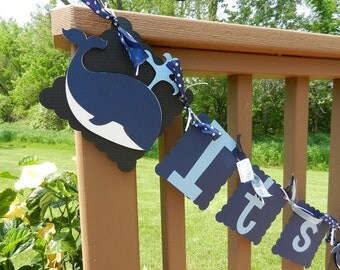 Baby Boy--Baby Shower banner