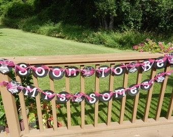 Bachelorette Party Banner Soon To Be Mrs Corset