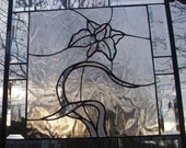 Stained Glass Window Panel Clear Elegant Textures