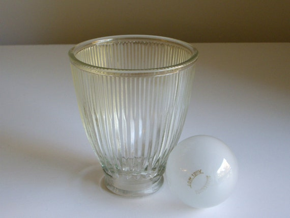 Vintage Glass Shade for Lighting Fixture or Lamp - Good for Upcycling Project