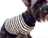 RESERVED LISTING for STEF Red and Black Large Dog Sweater