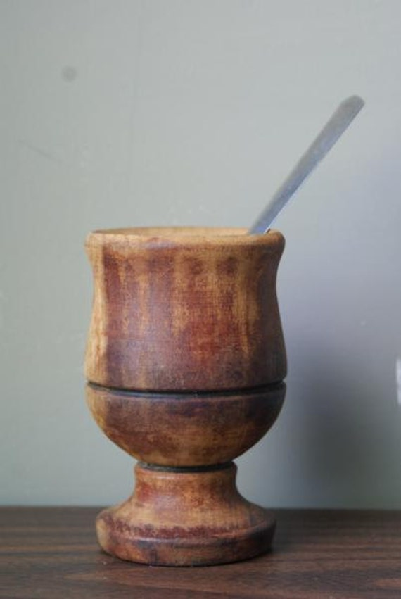 SALE Argentina Mate Argentinian Argentine Wooden Mate Tea Cup
