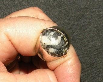 Men Jasper Ring