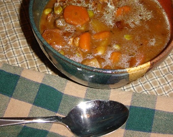 Back Creek Pottery Hardy Beef Stew - DIY Recipe - pdf Download