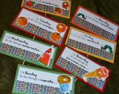 14 Printable Very Hungry Caterpillar Food Labels