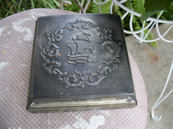 Metal box made in West Germany