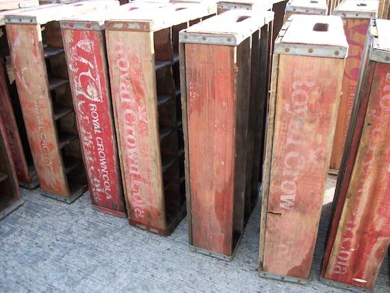 wood soft drink crates, pop crates, coke crates