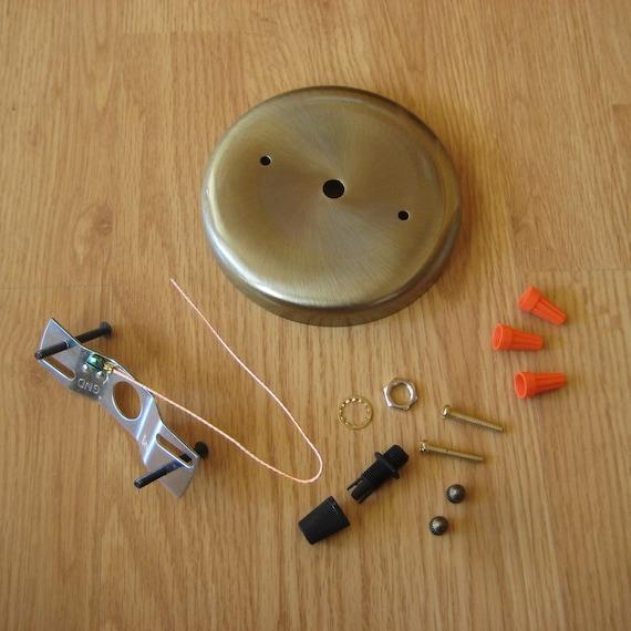 Items Similar To Plain Round Ceiling Fixture Mounting Kit
