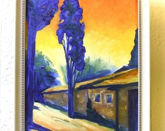 Oil Painting • Original Art • Oil Paintings • Daily Painters • Daily Painting • Tuscany