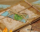Map  envelopes with matching Kraft Postcards. Atlas of the World.  Set of 5