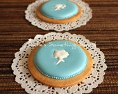Cameo Cookie-Custom Wedding Favors-Gift for Bridesmaid-Birthday Gift-Bridal Shower Favors