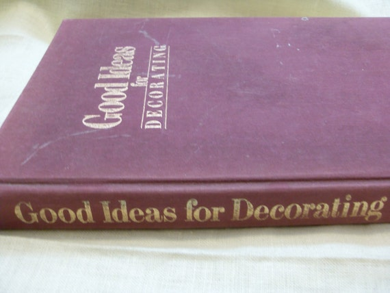 RESERVED Good Ideas for Decorating Book