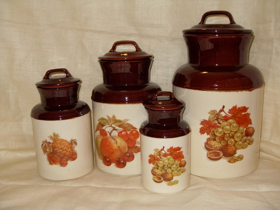 McCoy Fruit Harvest Canisters