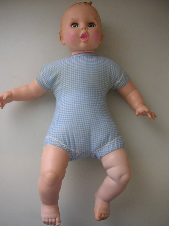 1970 Gerber Baby Doll With Original Clothes Advertising Doll