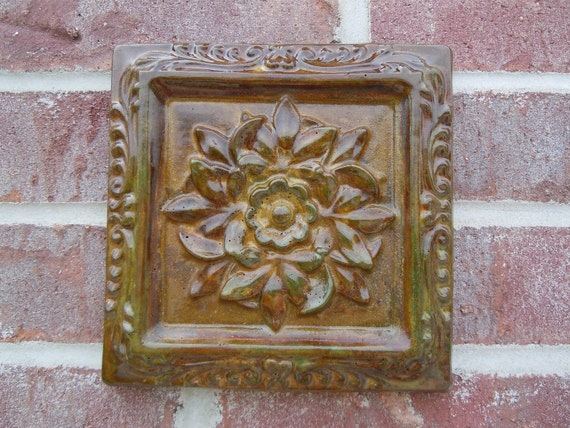 Concrete Old World Decor Square Tile