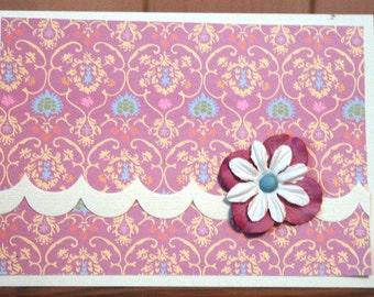 Lovely Lavendar Note Card20120038