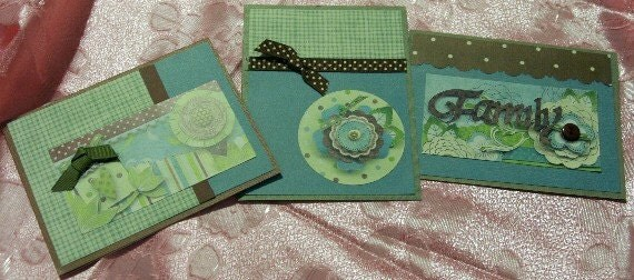 Three Cards for Family and Friends 20120138