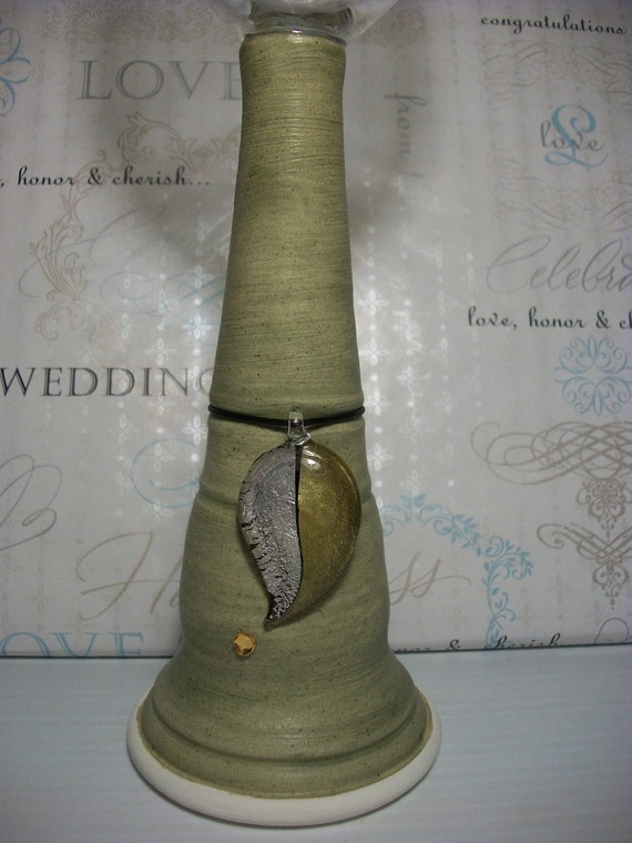 Sage Green Forgiveness Glass With Pendant