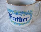 Vintage Father Mug / Dad Mug / Coffee Cup