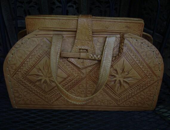 SALE Vintage Moroccan Hand-made Handbag Purse