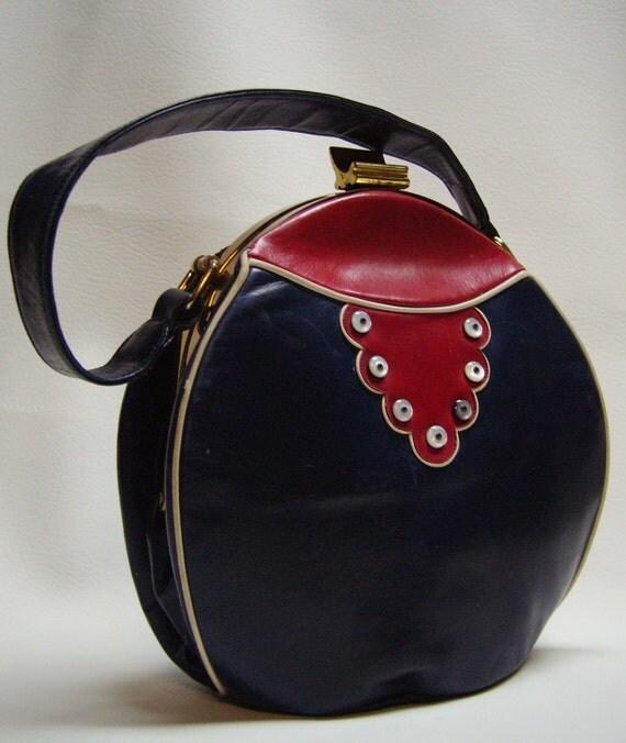 40s RENDEL Cantine style Handbag