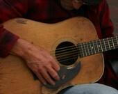 Church Street, Burlington, Vermont, Photography Guitar Blues Preformer - 5x7 Print