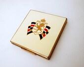 british royal vintage powder compact jubilee
