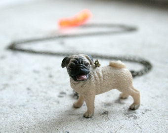 pug dog necklaces