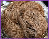 Natural Handspun Single Ply Camel Hair Yarn knit or crochet