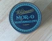 Vintage Whitman's Mor-O Marshmallows tin