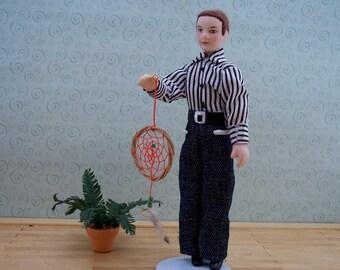 miniature dream catcher 1 inch scale