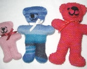 Speedy Bear - KNITTING PATTERN – pdf file by automatic download
