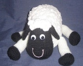 White Sheep - KNITTED TOY