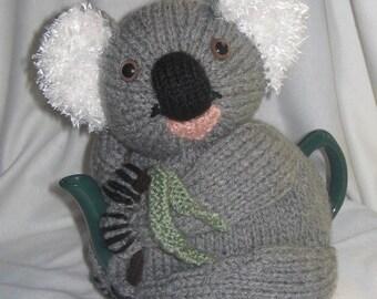 Koala Tea Cosy- KNITTING PATTERN - pdf file by automatic download