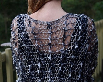 Little Lacy Shrug  - KNITTING PATTERN - pdf file by automatic download