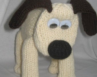 Toy Dog - KNITTING PATTERN – pdf file by automatic download