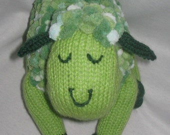Toy Sheep - KNITTING PATTERN – pdf file by automatic download