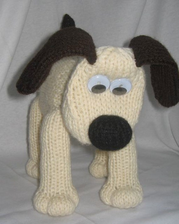 Knitting Pattern Dog Toy : Toy Dog KNITTING PATTERN pdf file by automatic download